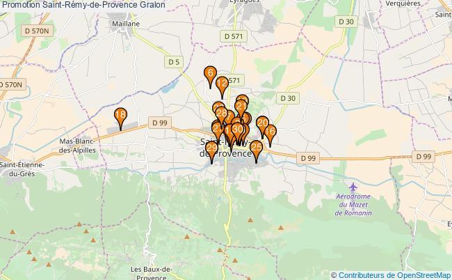 plan Promotion Saint-Rémy-de-Provence Associations Promotion Saint-Rémy-de-Provence : 54 associations