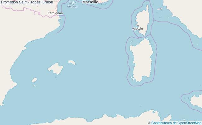 plan Promotion Saint-Tropez Associations Promotion Saint-Tropez : 14 associations
