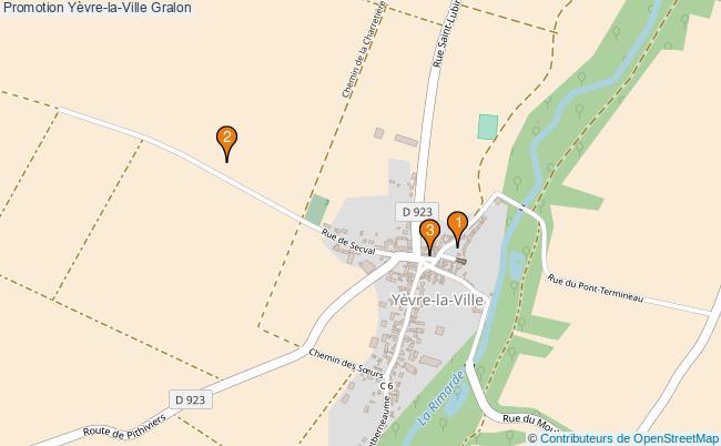 plan Promotion Yèvre-la-Ville Associations Promotion Yèvre-la-Ville : 4 associations