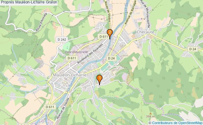 plan Propres Mauléon-Licharre Associations Propres Mauléon-Licharre : 2 associations