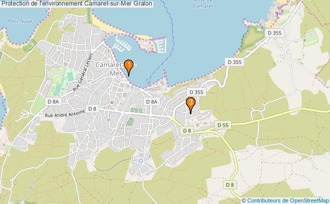 plan Protection de l'environnement Camaret-sur-Mer Associations Protection de l'environnement Camaret-sur-Mer : 3 associations