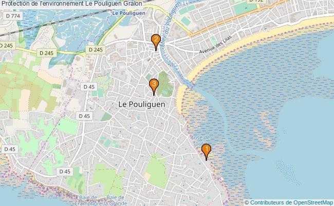 plan Protection de l'environnement Le Pouliguen Associations Protection de l'environnement Le Pouliguen : 3 associations