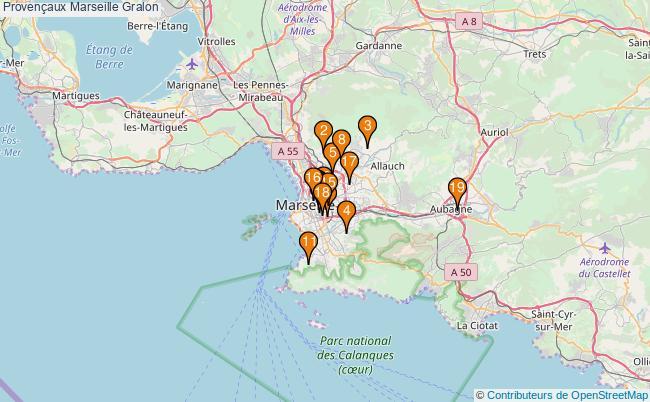 plan Provençaux Marseille Associations Provençaux Marseille : 21 associations