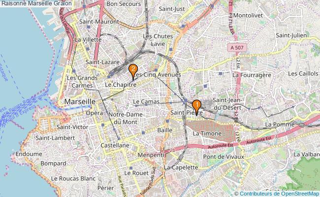 plan Raisonné Marseille Associations Raisonné Marseille : 2 associations