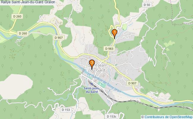 plan Rallye Saint-Jean-du-Gard Associations rallye Saint-Jean-du-Gard : 3 associations
