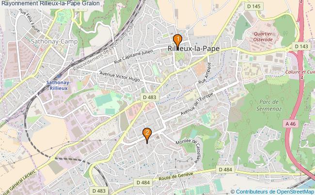 plan Rayonnement Rillieux-la-Pape Associations Rayonnement Rillieux-la-Pape : 3 associations