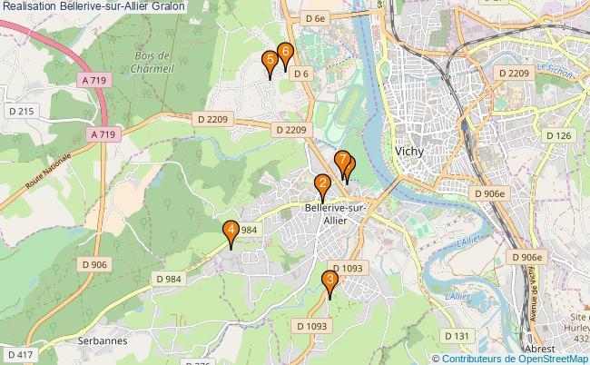 plan Realisation Bellerive-sur-Allier Associations Realisation Bellerive-sur-Allier : 7 associations