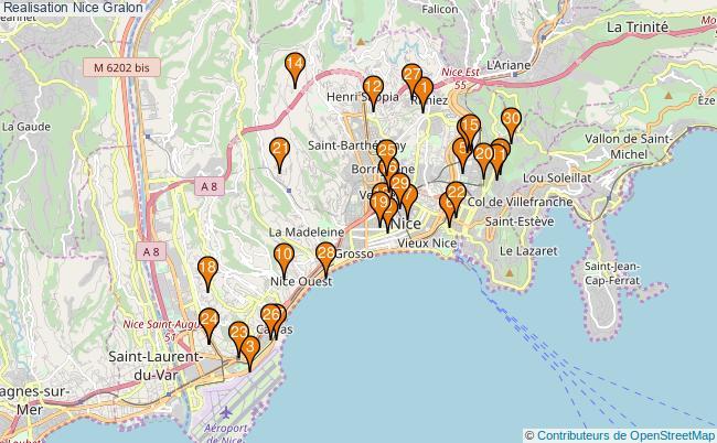 plan Realisation Nice Associations Realisation Nice : 567 associations