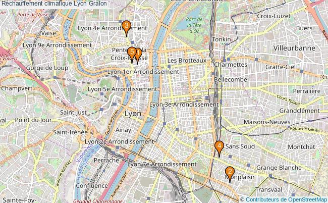 plan Réchauffement climatique Lyon Associations Réchauffement climatique Lyon : 6 associations