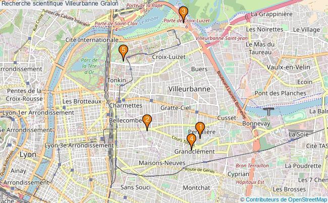 plan Recherche scientifique Villeurbanne Associations recherche scientifique Villeurbanne : 5 associations