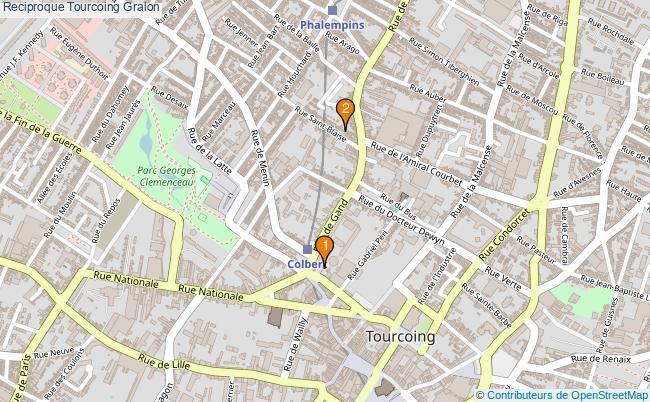 plan Reciproque Tourcoing Associations reciproque Tourcoing : 2 associations