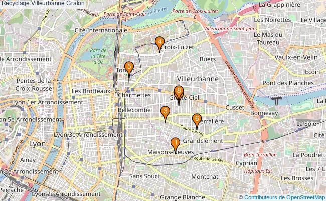plan Recyclage Villeurbanne Associations Recyclage Villeurbanne : 8 associations