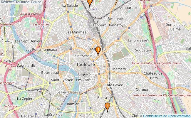 plan Réflexes Toulouse Associations réflexes Toulouse : 3 associations