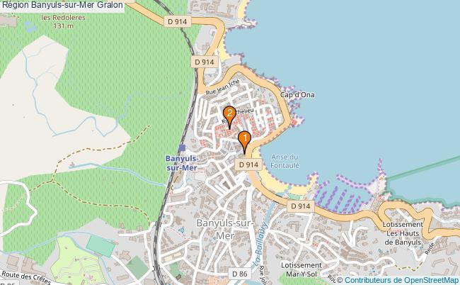 plan Région Banyuls-sur-Mer Associations région Banyuls-sur-Mer : 3 associations