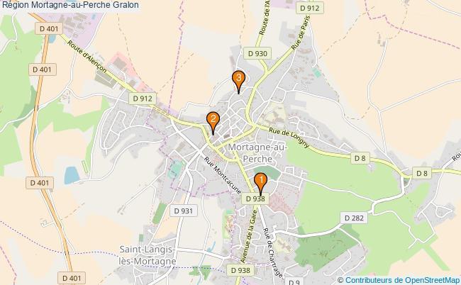 plan Région Mortagne-au-Perche Associations région Mortagne-au-Perche : 4 associations