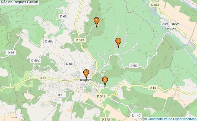 plan Région Rognes Associations région Rognes : 4 associations