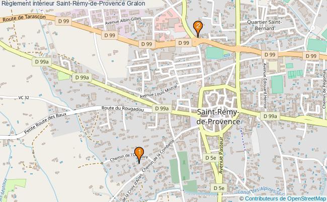 plan Règlement intérieur Saint-Rémy-de-Provence Associations règlement intérieur Saint-Rémy-de-Provence : 2 associations