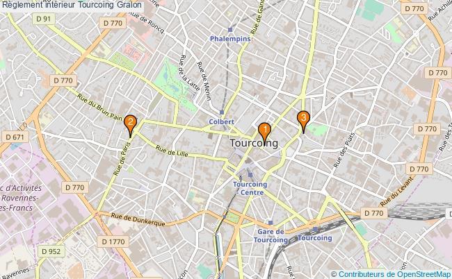 plan Règlement intérieur Tourcoing Associations règlement intérieur Tourcoing : 3 associations