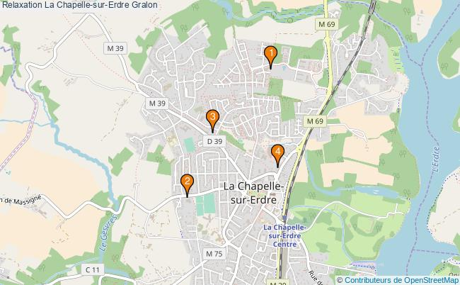 plan Relaxation La Chapelle-sur-Erdre Associations relaxation La Chapelle-sur-Erdre : 4 associations
