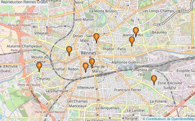plan Reproduction Rennes Associations reproduction Rennes : 10 associations