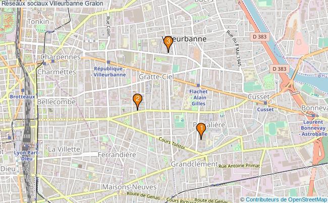 plan Réseaux sociaux Villeurbanne Associations réseaux sociaux Villeurbanne : 4 associations