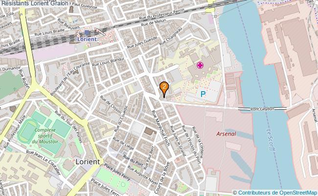plan Résistants Lorient Associations Résistants Lorient : 2 associations