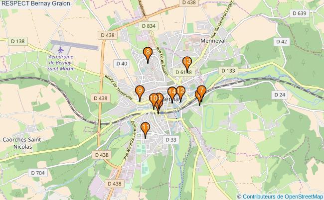 plan RESPECT Bernay Associations RESPECT Bernay : 14 associations