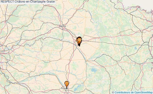 plan RESPECT Châlons-en-Champagne Associations RESPECT Châlons-en-Champagne : 40 associations