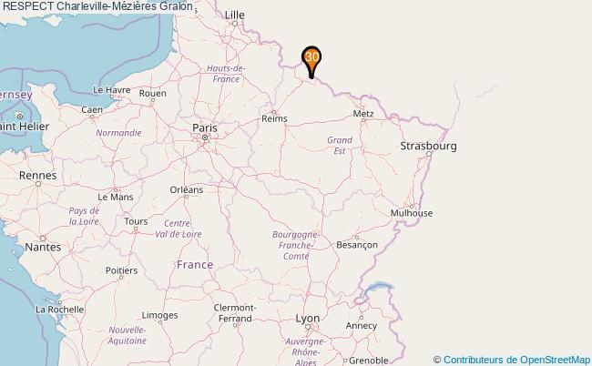 plan RESPECT Charleville-Mézières Associations RESPECT Charleville-Mézières : 38 associations