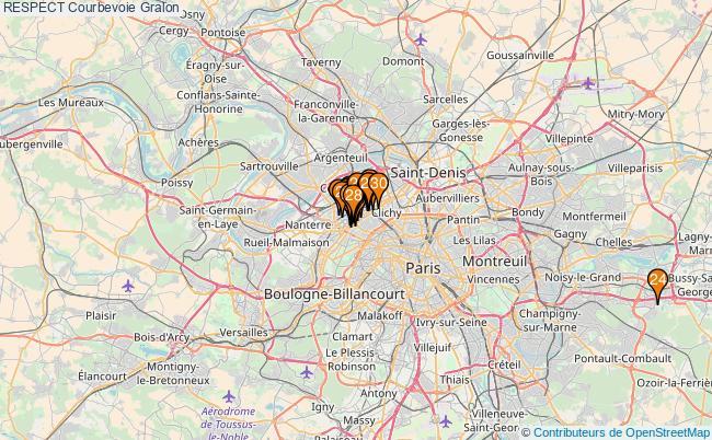 plan RESPECT Courbevoie Associations RESPECT Courbevoie : 37 associations