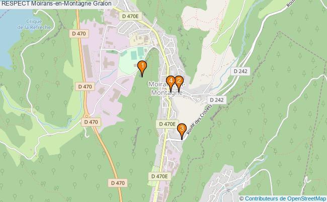 plan RESPECT Moirans-en-Montagne Associations RESPECT Moirans-en-Montagne : 4 associations