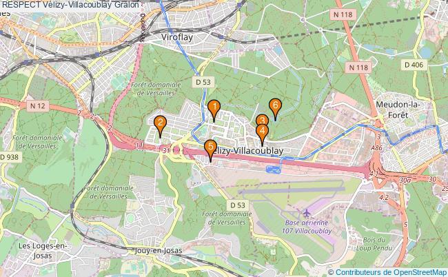 plan RESPECT Vélizy-Villacoublay Associations RESPECT Vélizy-Villacoublay : 9 associations