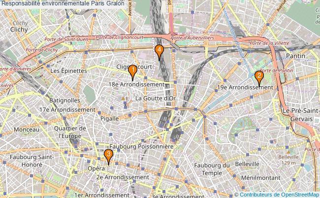 plan Responsabilité environnementale Paris Associations responsabilité environnementale Paris : 4 associations