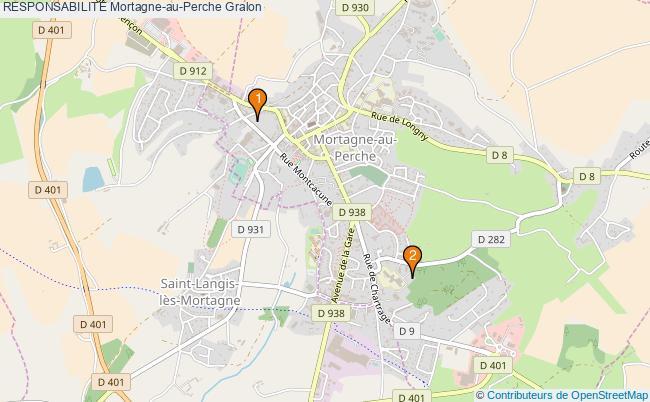 plan RESPONSABILITE Mortagne-au-Perche Associations RESPONSABILITE Mortagne-au-Perche : 2 associations