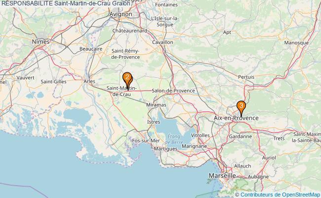 plan RESPONSABILITE Saint-Martin-de-Crau Associations RESPONSABILITE Saint-Martin-de-Crau : 3 associations