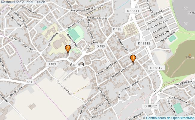 plan Restauration Auchel Associations Restauration Auchel : 2 associations