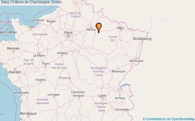 plan Sang Châlons-en-Champagne Associations sang Châlons-en-Champagne : 4 associations
