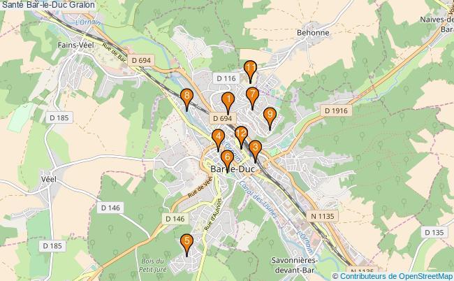 plan Santé Bar-le-Duc Associations Santé Bar-le-Duc : 14 associations