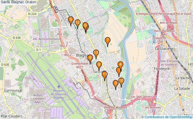 plan Santé Blagnac Associations Santé Blagnac : 15 associations