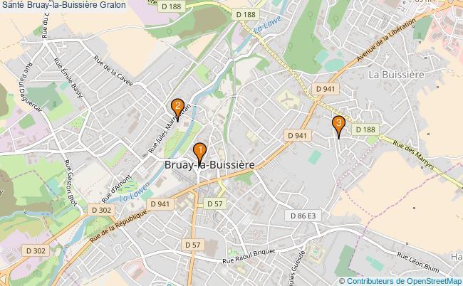 plan Santé Bruay-la-Buissière Associations Santé Bruay-la-Buissière : 3 associations