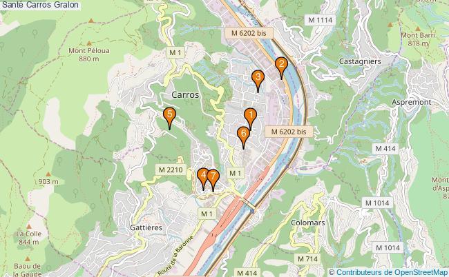plan Santé Carros Associations Santé Carros : 9 associations