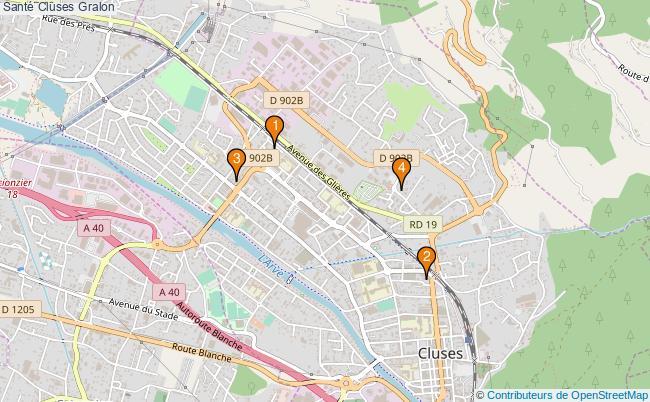 plan Santé Cluses Associations Santé Cluses : 3 associations