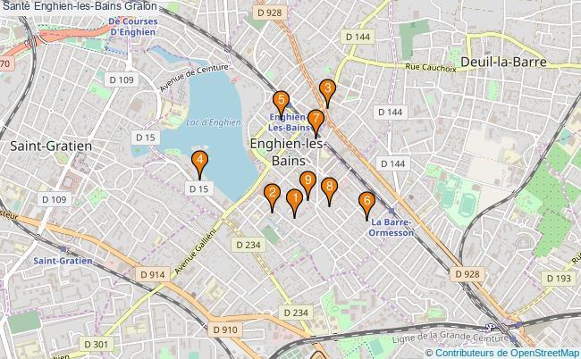 plan Santé Enghien-les-Bains Associations Santé Enghien-les-Bains : 11 associations