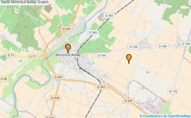 plan Santé Montreuil-Bellay Associations Santé Montreuil-Bellay : 2 associations
