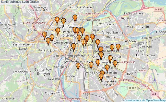 plan Santé publique Lyon Associations santé publique Lyon : 60 associations