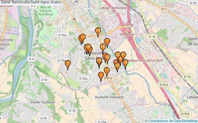 plan Santé Ramonville-Saint-Agne Associations Santé Ramonville-Saint-Agne : 24 associations