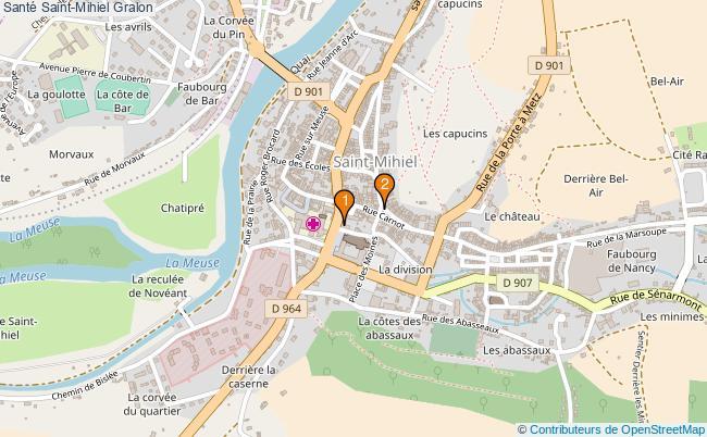 plan Santé Saint-Mihiel Associations Santé Saint-Mihiel : 2 associations