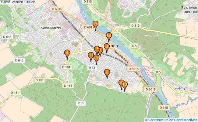 plan Santé Vernon Associations Santé Vernon : 12 associations