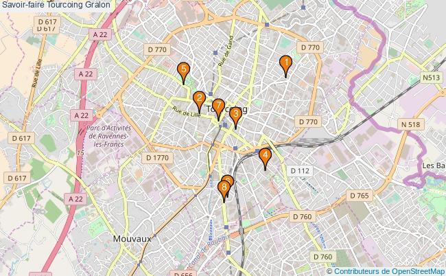 plan Savoir-faire Tourcoing Associations Savoir-faire Tourcoing : 8 associations