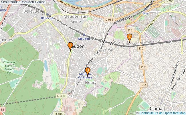 plan Scolarisation Meudon Associations scolarisation Meudon : 3 associations
